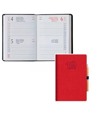 Agenda 6,5x10 2 gg classica matera rosso BALDO 49170603 8032793650560 49170603