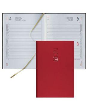 Agenda 12x16,5 s - d classica gommato rosso 62100403 BALDO 62100403 8032793650881 62100403