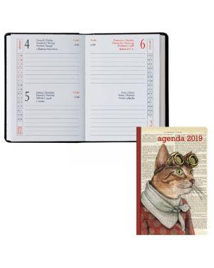 Agenda tasc.6,5x10 2 gg classica fantasia gatto 049173004 BALDO 49173004 803279365197 49173004