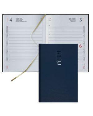 Agenda 12x16,5 s - d classica gommato blu 62100401 BALDO 62100401 8032793650867 62100401