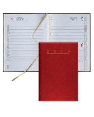 Agenda 11x16,5 s - d abbinati classica madrid rosso 62101003 BALDO 62101003 803279365849 62101003