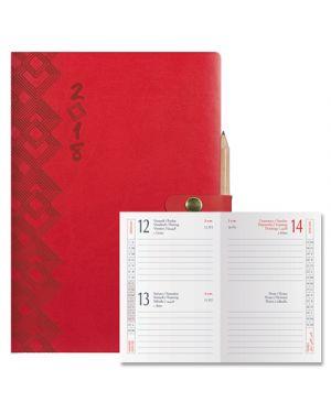 Agenda 6,5x10 2 gg classica print c - chiusura+mat. rosso 0491 092 18 BALDO 49109218 2000001855638 49109218
