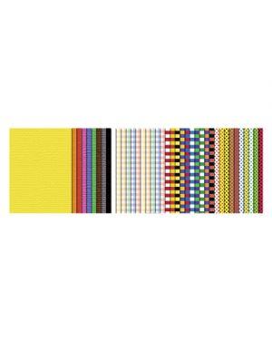 Carta colori e fantasia 23x33cm fg.40 ass 7780000