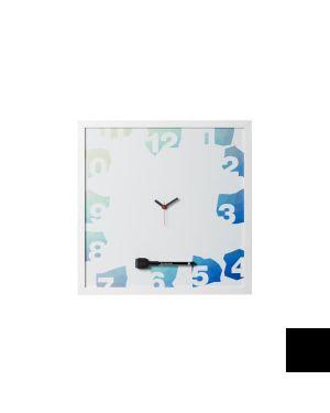 Lavagna con orologio magnet. 40x40 Bi-Office CG0250166 5603750667810 CG0250166