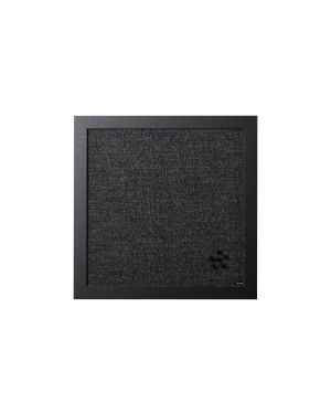 Pannello avvisi tessuto nero 45x45 FB8971168