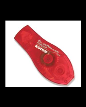 Colla roller red 8mmx10mt permanente kores Confezione da 12 pezzi 38112_K38112 by Kores