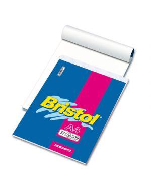 Blocco notes bristol fg.60 a4 bianco gr.50 BLASETTI 1036 8007758012349 1036