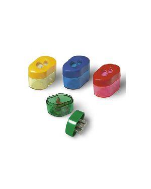 Temperamatite 2 fori con contenitore LEBEZ 346 8007509003466 346