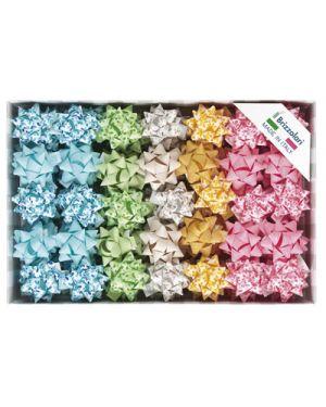 Stella adesiva agave mm.15 pezzi 100 colori assortiti 31235