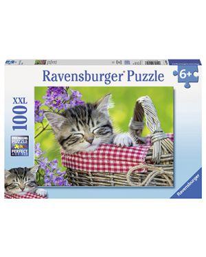 Puzzle bimbo xxl sonnellino nella cesta 10539