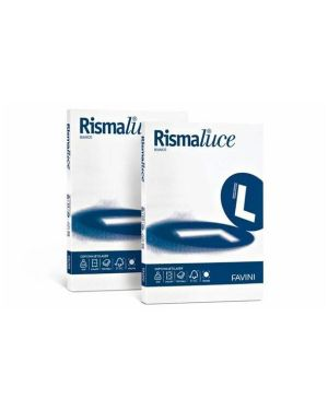 Rismaluce a3 100gr bianco 300ff - Rismaluce A680313 by No