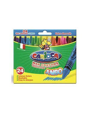 Conf24 pastello a cera maxi  ass Carioca 42390 8003511423902 42390