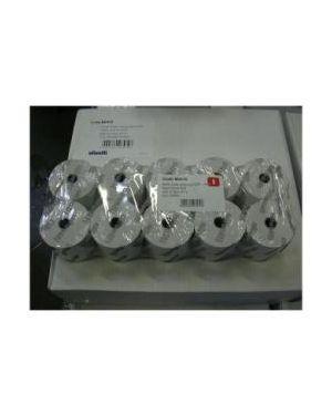 Scatola 10 rotoli carta termica logos 694 t 57mmx47mt B0410 OLIB0410KA B0410_OLIB0410K by Olivetti