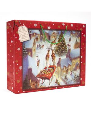 Shopper case xmas night 54x44x14, 5 KARTOS 10950100 8009162298647 10950100 by Kartos