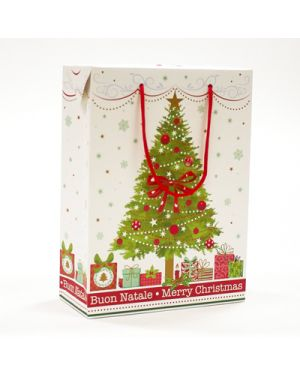 Shopper case xmas tree 22x30x10 KARTOS 10920200 8009162298746 10920200 by Kartos