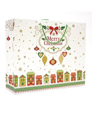 Shopper case xmas town 54x44x14,5 KARTOS 10950000 8009162298630 10950000