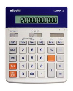 Calcolatrice summa 60 non scrivente da tavolo B9320 8020334289782 B9320_OLIB9320