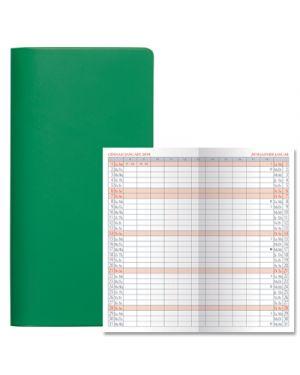 Agenda 7x13,5 planning satin bm verde 52000104 BALDO 52000104 803279365079 52000104