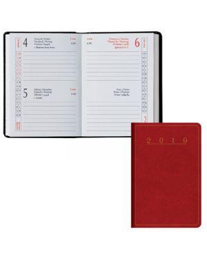 Agenda tasc.6,5x10 2 gg classica madrid rosso 049101003 BALDO 49101003 803279365002 49101003