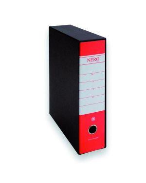 Cf12registratori prot 8cm rosso - Nero 0201150R