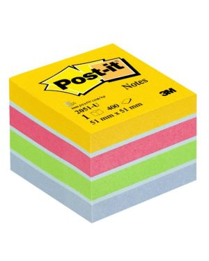 Vetrina 30pz post-it minicubi Post-it 29459  29459
