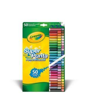 pennarelli superpunta lavabili Crayola 7555 5010065075559 7555