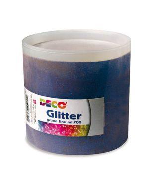 Glitter grana fine - barattolo ml.700 - blu CWR 5400 8004957054002 5400