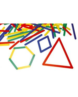 Stecchette geometriche  - set 72 pz CWR 5818 8004957058185 5818