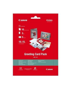 Greeting card pack 10x15 - 10 fogl Canon 0775B077 8714574595559 0775B077