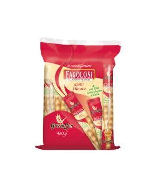 Grissini fagolosi con semi di sesamo multipack 480gr (40 monoporzioni 78AS 8001405017077 78AS_RICH278