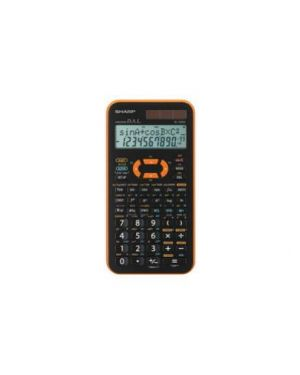 Calcolatrice scientifica arancio el 506xb  sharp EL-506XB-YR_SHAEL506XBYL