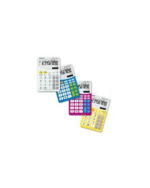 Calcolatrice el m332b 10 cifre da tavolo sharp colore bianco ELM332BWH_SHAELM332BWH by Sharp