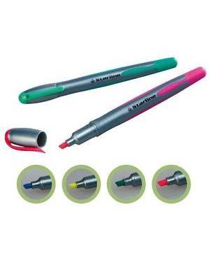 Evidenziatore starline verde p.Scalpello 1-4mm Confezione da 12 pezzi STL1639_STL1639