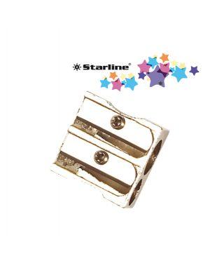 Blister 1 temperamatite 2 fori in metallo starline STL2305 8025133019806 STL2305_STL2305
