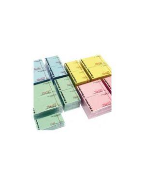 12 blocchetti biglietto autodesivo rosa removibile 51x38mm 100fg. 70gr 407_STL2503