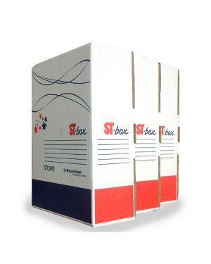 Scatola archivio st-box a4 legal 250x350mm dorso 8,5cm starline 8109.1603 STL5052 A 8109.1603_STL5052 by Starline