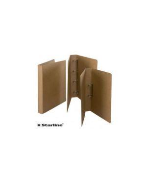 Raccoglitore 22x32cm 4 anelli d.30 sole fsc cartone eco starline Confezione da 2 pezzi 1401_STL6001 by Ro-ma