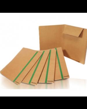 Cartellina 3 lembi 25x35cm cartone fsc con elastico piatto Starline - Confezione da 5 pezzi 1403_STL6100 by Starline