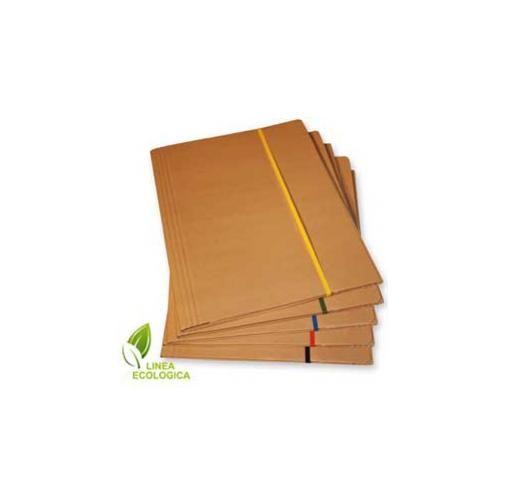 Cartellina 3 lembi 25x35 cartone fsc c/elastico piatto 5mm starline
