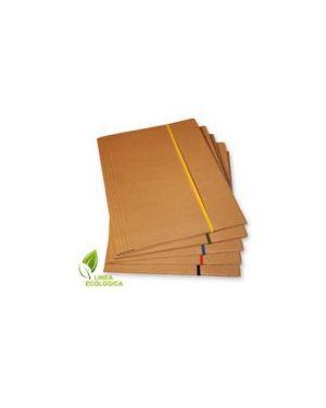 Cartellina 3 lembi 25x35 cartone fsc c/elastico piatto 5mm starline 1405_STL6105