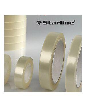 Torre 10 rotoli nastro adesivo 15mmx33mt trasparente starline 1180 8014035014934 1180_STL6200 by Starline