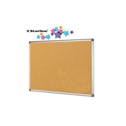 Lavagna sughero 60x90cm cornice alluminio Starline Cod. stl_STL6411 8025133021755 stl_STL6411 by No