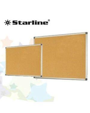 Lavagna sughero 45x60cm cornice alluminio Starline Cod. STL6413 8025133023322 stl6413_STL6413