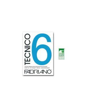 Album tecnico 6 liscio 20ff 240gr Fabriano 09803550S 8001348119135 09803550S by Fabriano