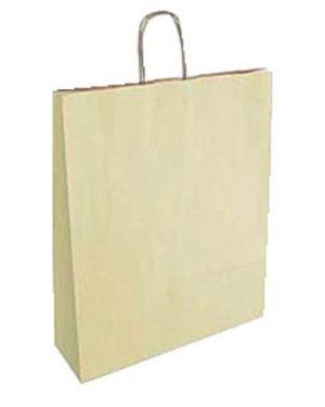 Cf25shopper 23x10x32 sealing avorio - Shopper in carta 70913 by No