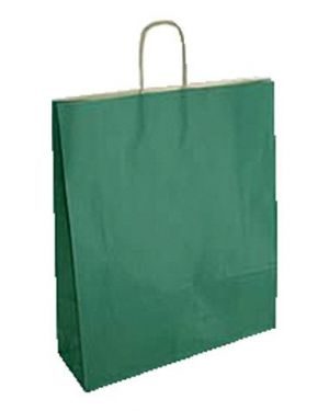 Cf25shopper 26x12x35 sealing verde - Shopper in carta 70098 by No