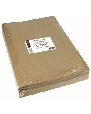 Cf50ff carta kraft avana 100x140 80 - Carta da pacco avana 1403A by No