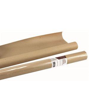 Rotolo carta kraft avana 100x5 80gr - Carta da pacco kraft in rotolo 5344