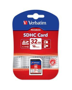 Secure digital card 32gb hc class 10 (min 10mb - sec 43963 23942439639 43963_VERB43963 by Verbatim
