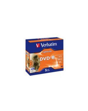 Dvd r 16x  verbatim 4.7 gb  lightscribe high sensivity 43621_VERBDVD-R4716L